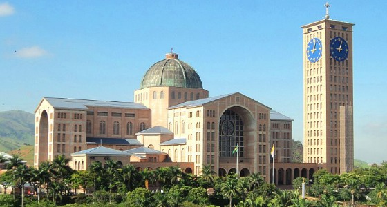 Basílica Nossa Senhora Aparecida: Enjoy A Virtual Tour Of Our Lady Of Aparecida Shrine
